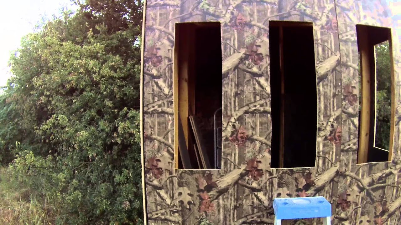 hunting max material canada hunters blind amazon specialties camo realtree leaf hunter s blinds dp