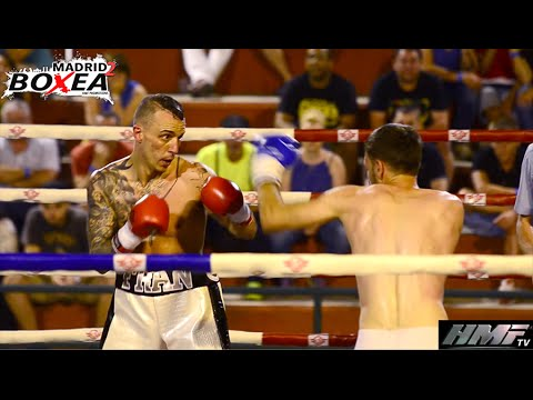 MADRID BOXEA 2 - FRAN SUAREZ (GARDEN) VS DIMITRU NICU (RUMANIA)