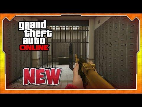 GTA 5 Online: New Pacific Standard Bank Vault Wallbreach! (GTA Online Glitches)