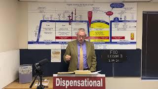 Fundamentals of Dispensationalism Lesson 3