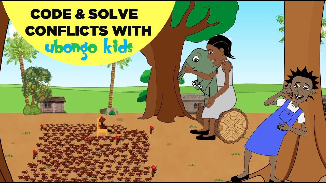 Learn About Coding and Conflict Resolution! | Ubongo Kids | African Educational Cartoons
