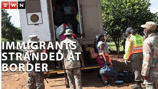 Foreign nationals were left stranded at the Lebombo border on Tuesday 12 January after President Ramaphosa announced that all ports of entry would be closed until 15 February 2021.  #COVID19 #Lockdown #CyrilRamaphosa