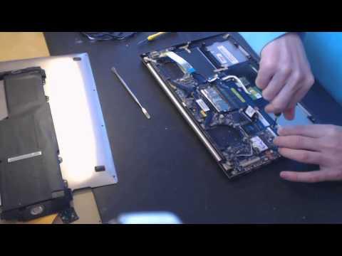Asus Zenbook ux32e ux21 ux32a ux32v ux32vd Laptop Power Jack Repair broken pin fix