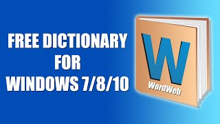 How To Download & Install WordWeb Dictionary In Windows 10 | Free Dictionary For Students & Teachers screenshot 3