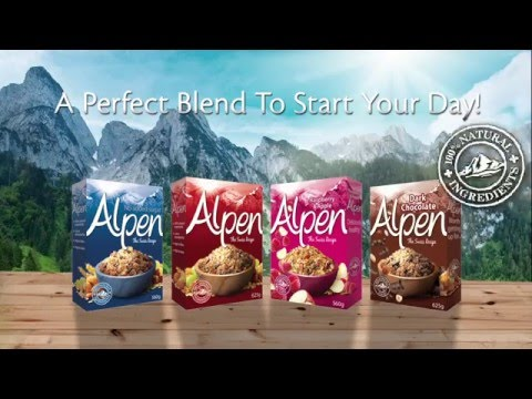 ALPEN - Perfect Blend To Start Your Day!