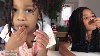 Kids vs Food DIY Giant Gummy Candy Bad Baby Sushi