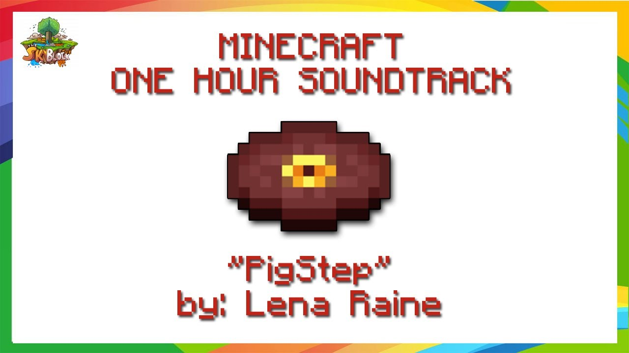 ✔ Minecraft Music: Lena Raine - Pigstep (1 HOUR) | 2020