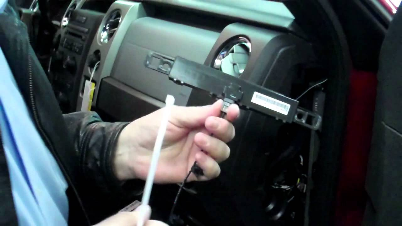 ford f150 remote start installation youtube rh youtube com 2012 Focus Radio Wiring Code 2012 Ford F-150 Radio