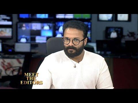 Jayasurya in Meet The Editors_Reporter Live