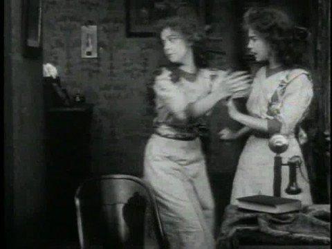 D.W. GRIFFITH  AN UNSEEN ENEMY 1911 LILLIAN & DOROTHY GISH