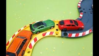 Voiture de police, pompier, ambulance Histoires avec des jouets et des voitures 🔴 Live