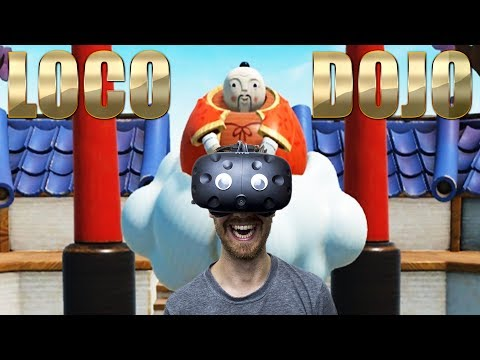 PARTY GAME IN VIRTUAL REALITY! | Loco Dojo - HTC Vive Gameplay