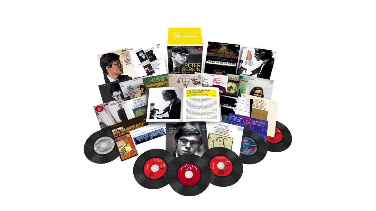 Peter Serkin - The Complete RCA Album Collection (Out Now)