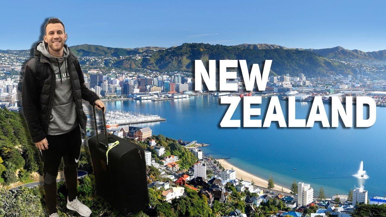 I've Arrived in New Zealand!