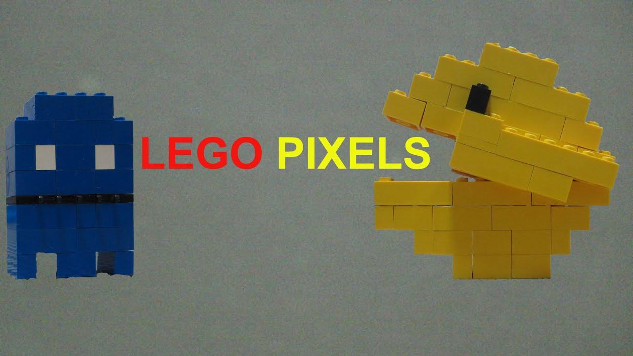 LEGO pixels - centipede & pacman - YouTube