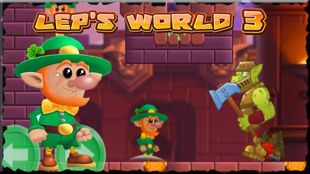 Lep S World 3 Kill Winter Goblin Mobile Game Youtube