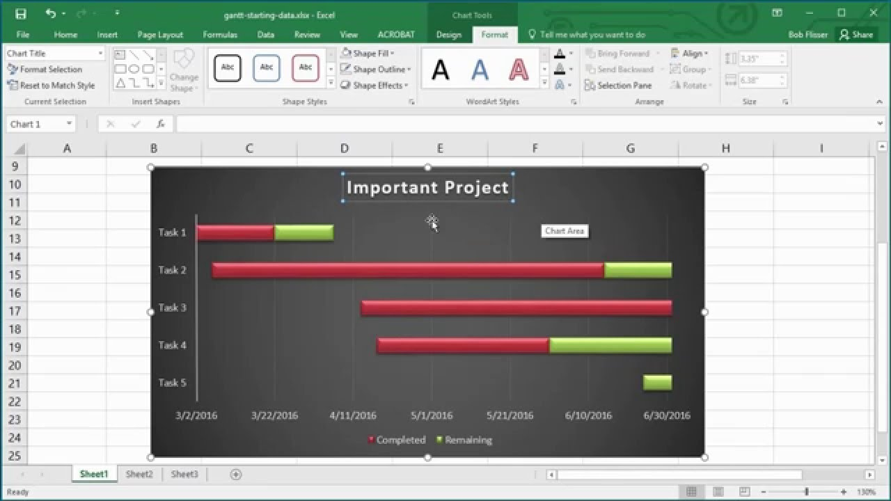 How to Make a Gantt Chart in Excel   YouTube How to Make a Gantt Chart in Excel