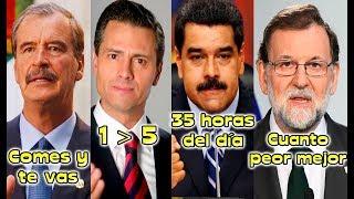 Video Las Frases Más Absurdas de los Presidentes download MP3, 3GP, MP4, WEBM, AVI, FLV Mei 2018