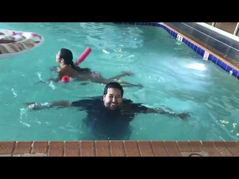 Segundo día de vacaciones.. vamos a la piscina techada