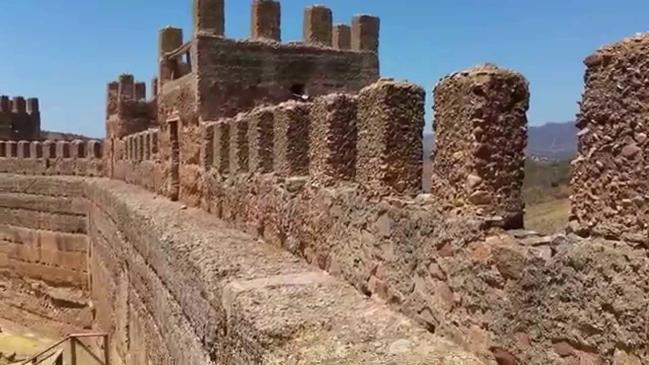 Castillo de burgalimar ba os de la encina youtube - Castillo de banos de la encina ...