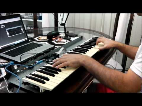 ICO - You Were There (with An Arduino MIDI Keyboard Controller)