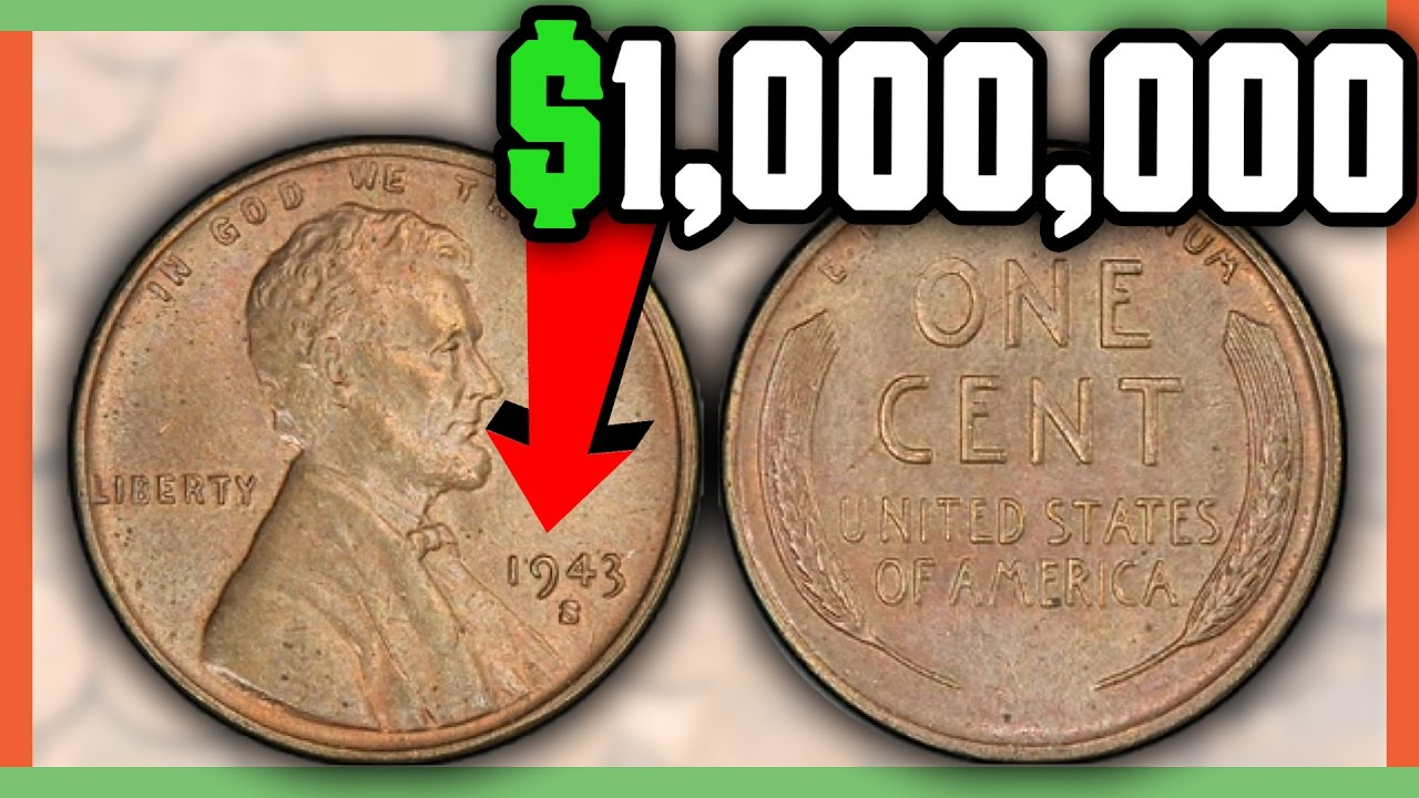 Rare 1943 Copper Penny Worth A Million Dollars Check
