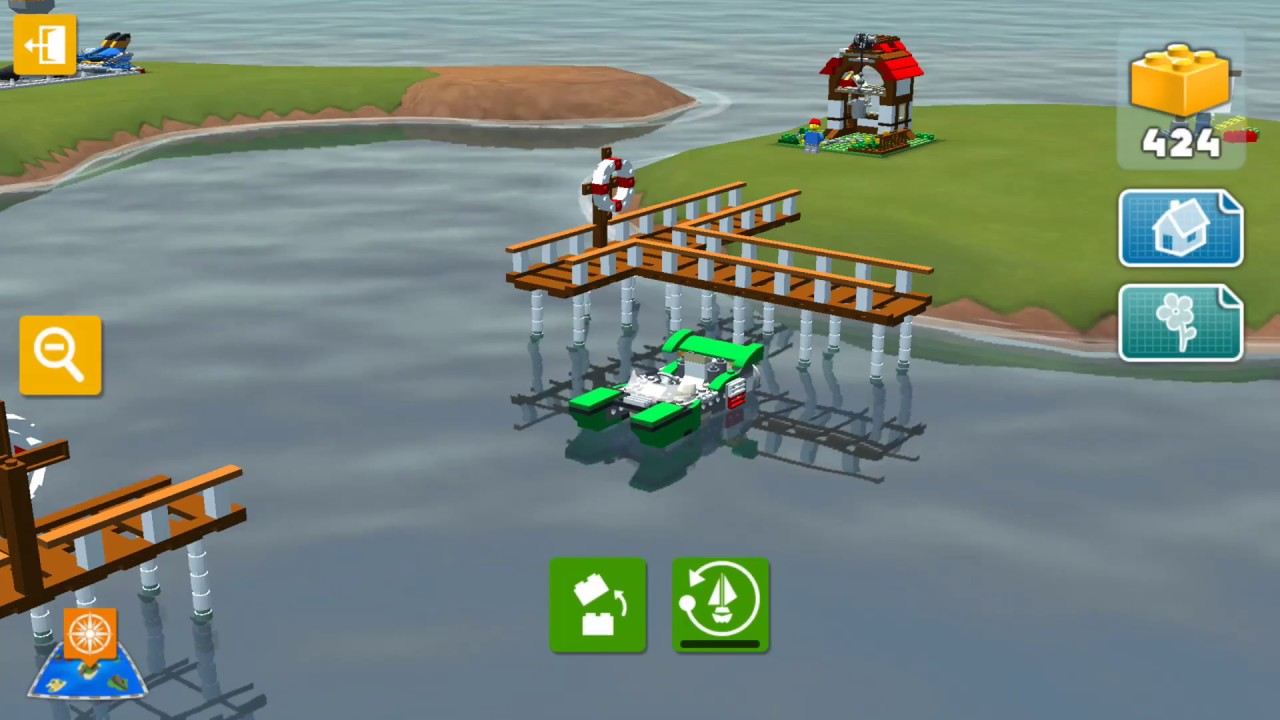 Explore New Islands With The Green Cruiser Lego Creator Islands App