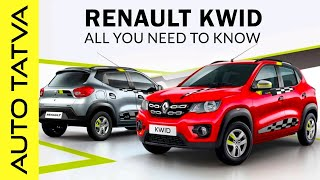 Renault Kwid 2018 | The Best in Segment ? | New Features Added | Overview | Hindi | Auto Tatva