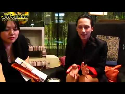 Johnny Weir — Beijing Fan Meeting 2012