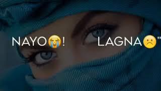 Teri Pyaari Pyaari Do Akhiyan (whatsapp status l Lyrical video )