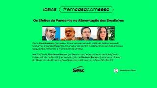 IDEIAS - OS EFEITOS DA PANDEMIA NA ALIMENTAÇÃO DOS BRASILEIROS