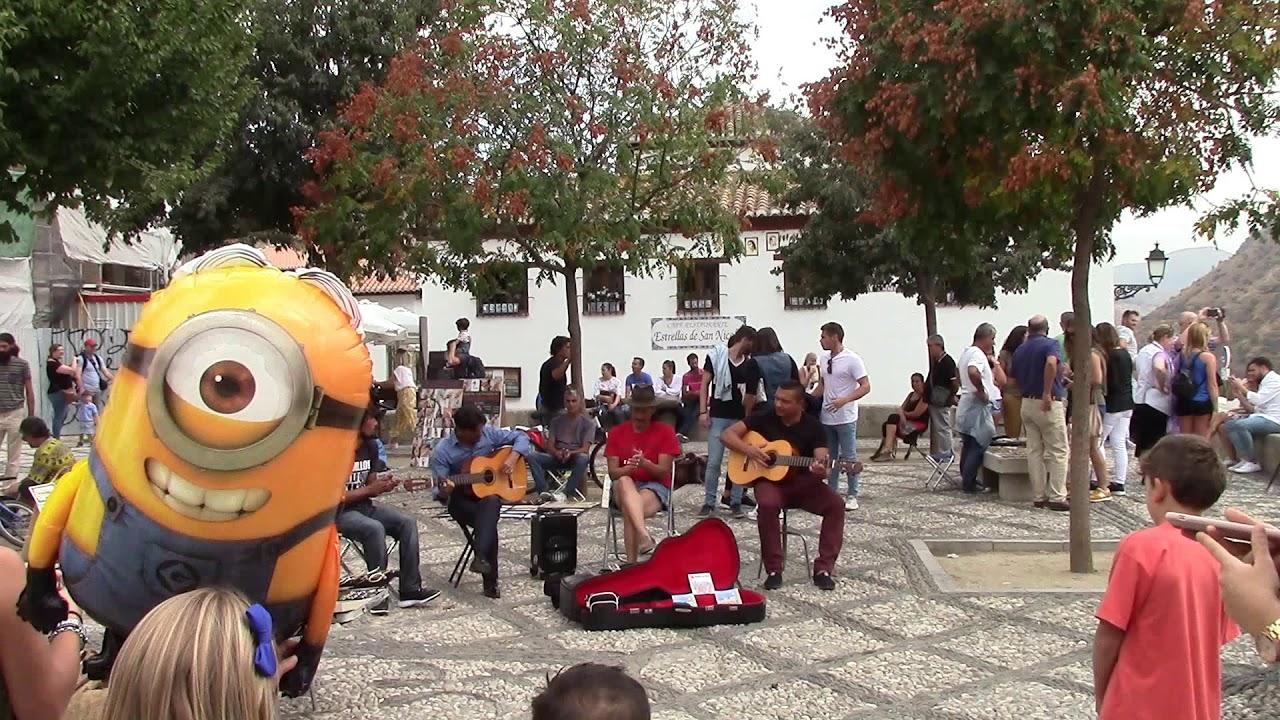 Best Streets In Albaicin Granada