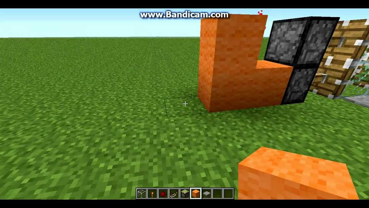 Minecraft How To Make Sliding Glass Doors The Easy Way