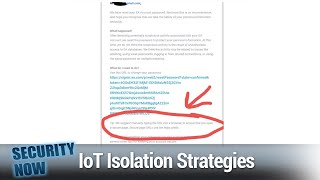 IoT Isolation Strategies - Isolate Your IoT Devices, Threema Goes Open-Source