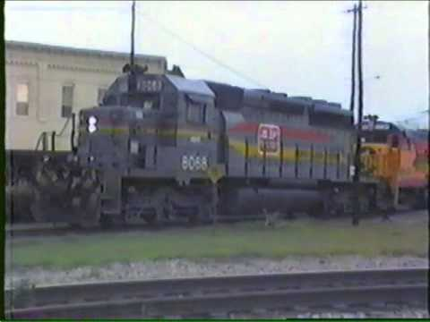 Early CSX at Waycross, GA (1988)