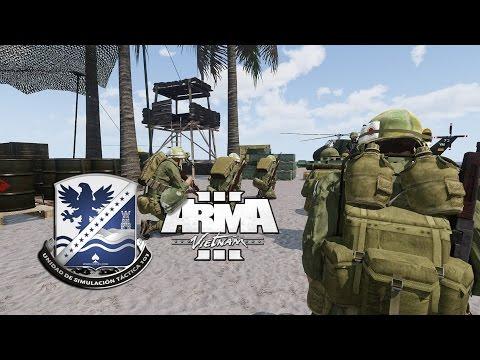 Juegos De Guerra | Vietnam Simulación ArmA 3 | UST101