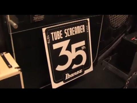 IBANEZ TUBE SCREAMER - 35th Anniversary - NAMM 2014