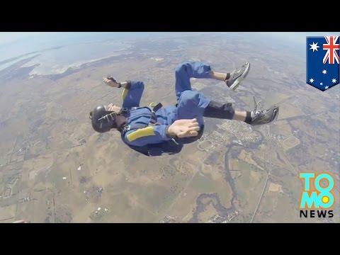 Pria kejang sebelum dapat membuka parasutnya, terekam kamera Go Pro - Tomonews
