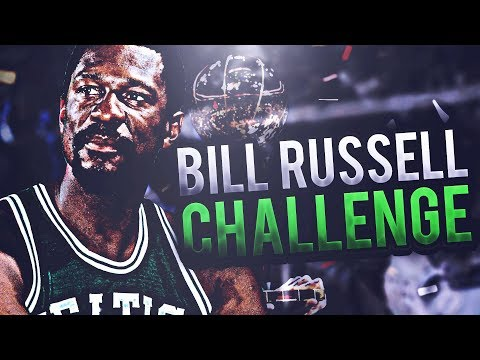 11 TITLES IN 13 YEARS?! 8 IN A ROW!? BILL RUSSELL CHALLENGE! NBA 2K17