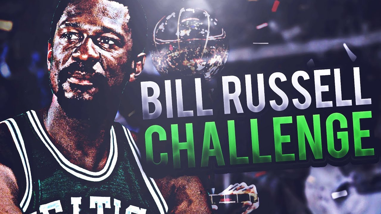 11 TITLES IN 13 YEARS 8 A ROW BILL RUSSELL CHALLENGE NBA 2K17