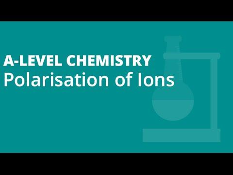 polarisation of ions a level chemistry aqa ocr edexcel youtube rh youtube com