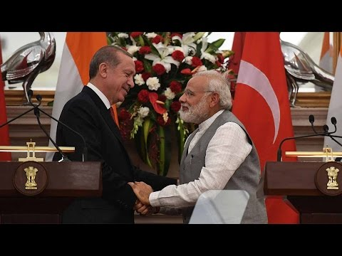 Turkish President's visit to India to boost bilateral ties