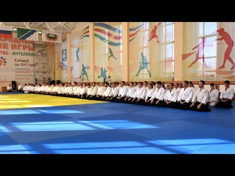 Miyamoto Shihan 宮本鶴蔵 in Novosibirsk, Russia 2018 TV OTS