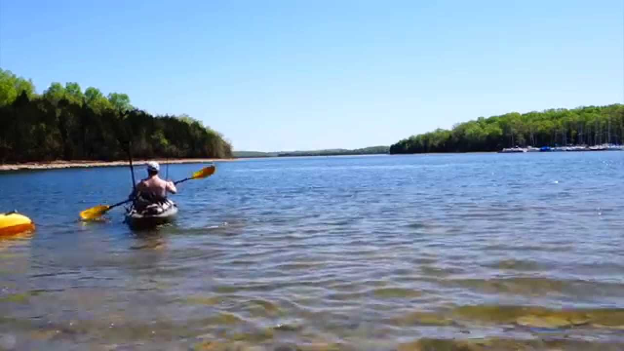 Hamilton creek sailboat marina kayaking youtube for Lake hamilton fishing report