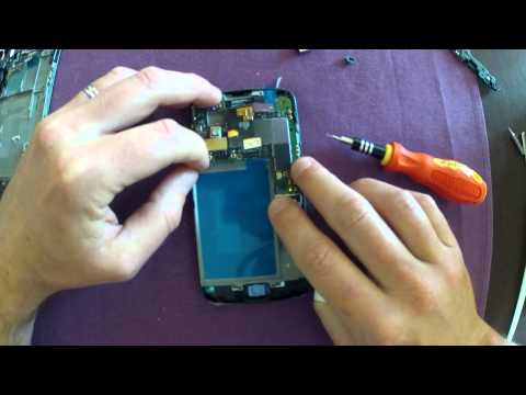 Nexus 4 Screen Replacement Timelapse