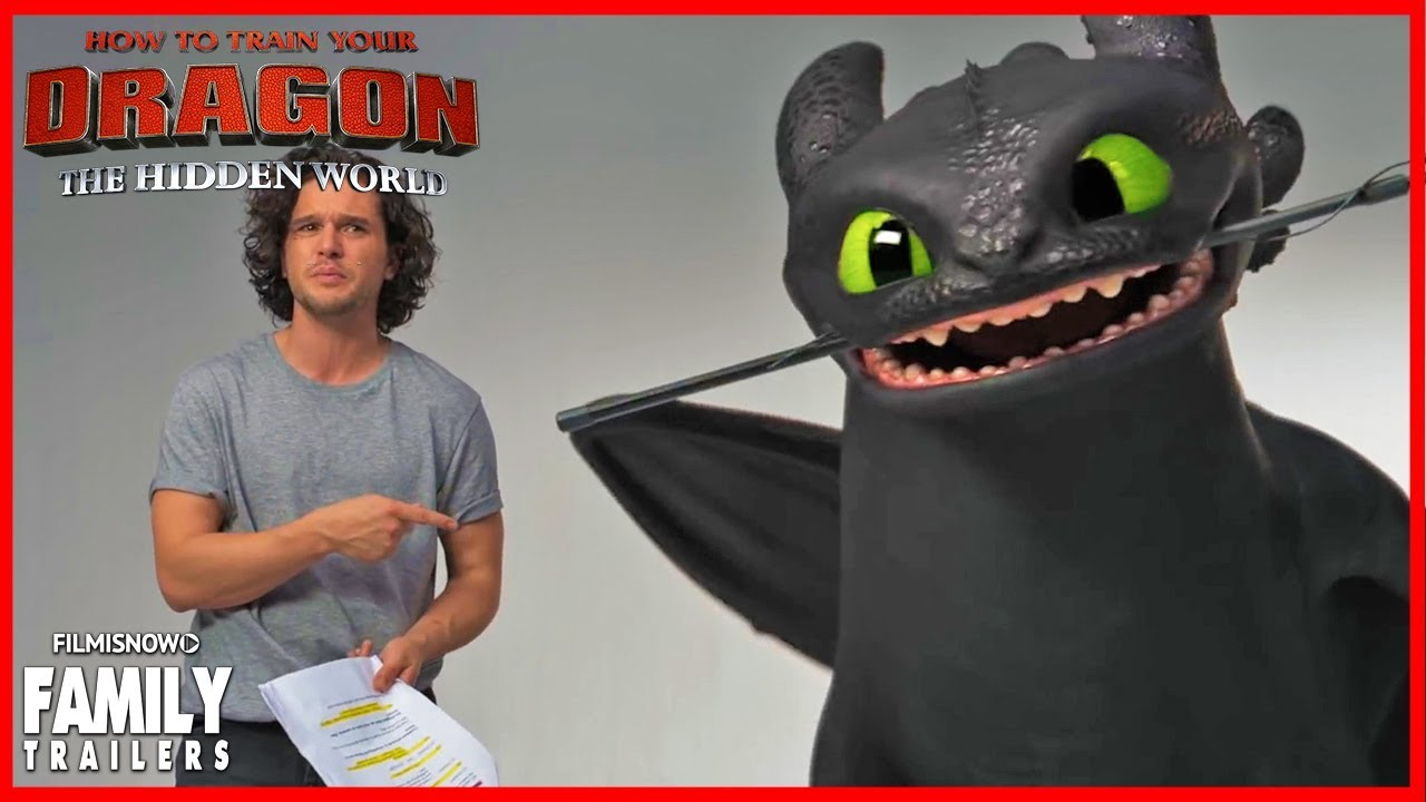 HOW TO TRAIN YOUR DRAGON 3 - Lost Audition Tapes with Kit Harrington &  Toothless