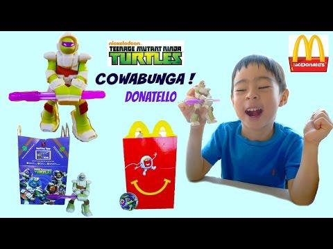 McDonalds Happy Meal 2016 Toy Hunt  Teenage Mutant Ninja Turtles