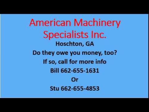 American Machinery Specialists Inc