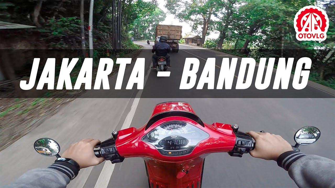 Jakarta Bandung Pake Vespa!