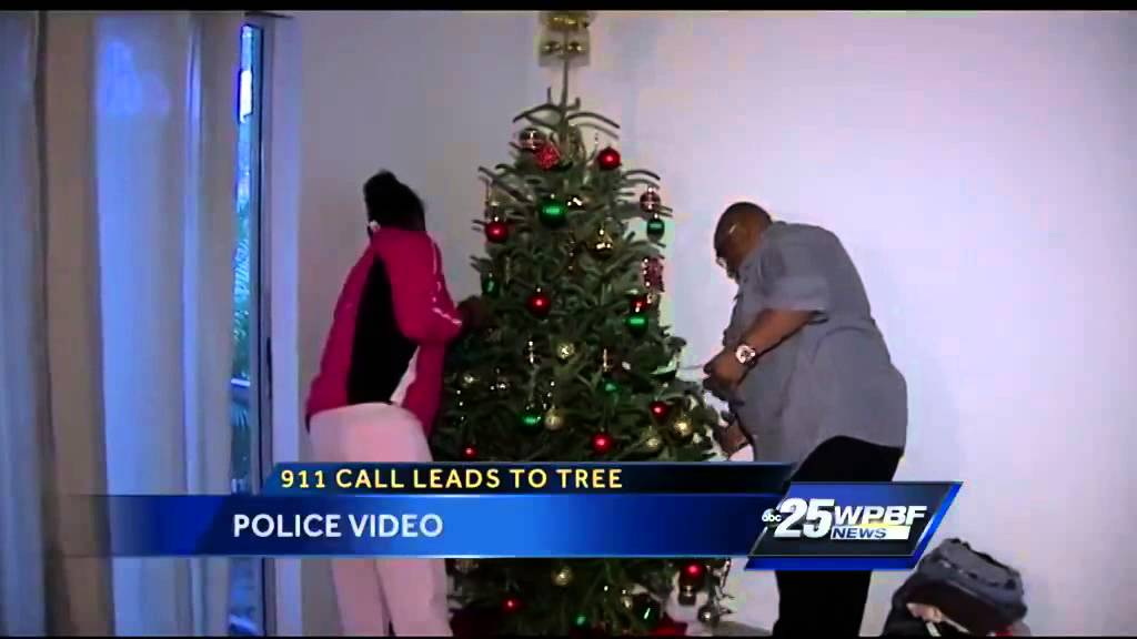 Boynton Beach police officers donate Christmas tree after 911 call ...